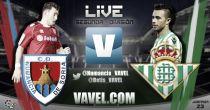 Numancia - Betis en directo online (1-1)