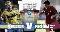 Suecia vs Portugal en vivo y en directo online en la final de la Euro Sub-21 2015 (0-0)