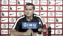 """Valverde: """"La decisión está tomada hace tiempo. Se quedan los tres porteros"""""""