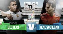 Resultado Elche vs Real Sociedad en la Liga BBVA 2015 (1-0)