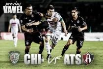 Previa Chiapas - Atlas: por puntos para el cociente