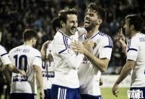 Fotos e imágenes del Real Zaragoza 2-0 CD Mirandés, jornada 14 de Segunda División