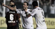 Com gol no último minuto, Santos vence e rebaixa Vitória para Série B