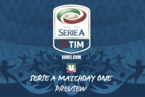Serie A 2016/17 Match Day One Preview
