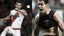 Alario y Sand, dos goleadores que meten miedo