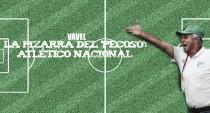 La pizarra del 'Pecoso': Atlético Nacional