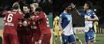 Leverkusen, con apuros; Hoffenheim y Friburgo ya están en cuartos