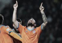 """Alcácer: """"El objetivo real a día de hoy es la Champions"""""""