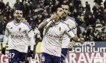 Fotos e imágenes del Real Zaragoza 2-1 Real Oviedo, jornada 18 de Segunda División