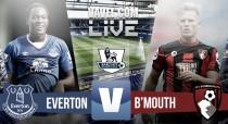 En vivo: Everton vs Bournemouth online en Premier League 2016