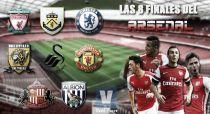 Las ocho finales del Arsenal