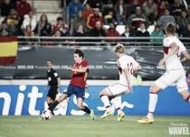 Yeray y Odriozola debutan con la sub-21