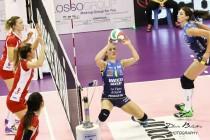 Volley F - L'Imoco Conegliano inizia la Champions League con un netto successo sulle azere del Telekom Baku