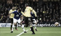 Premier League - Super Okaka trascina il Watford contro i Toffees: 3-2 a Vicarage Road