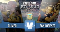 Resultado Olimpo vs San Lorenzo (1-1)