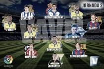 El Once de Oro de VAVEL: 2ª jornada de La Liga