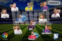 El Once de Oro de VAVEL: 1ª jornada de la La Liga