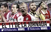 Once ideal de la 17ª jornada de la Eredivisie