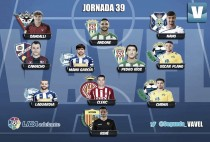 Sangalli, en el 'Once de Plata' de la jornada 39 en Liga Adelante