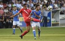 José Antonio Caro se erige en héroe y da el ascenso al Sevilla Atlético