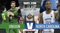Oregon Ducks vs North Carolina Tar Heels Live Stream Score (76-77)
