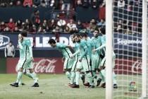 Victoria balsámica del Barça en El Sadar