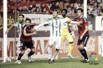 CA Osasuna - Córdoba CF puntuaciones del Córdoba, jornada 6 de la Liga Adelante