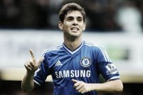 Oscar expecting difficult match against Arsenal and in the title race.