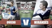 El Mirandés suma un punto de solidez en Oviedo