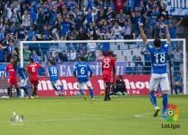 La efectividad del Oviedo noquea a un Nàstic que desapareció