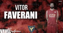 Vitor Faverani: la furia brasileña del UCAM Murcia