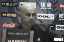 """Paco Jémez: """"Yo soy el responsable de los errores"""""""
