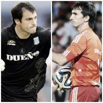 Cara a cara: Sebastián Saja vs Marcelo Barovero