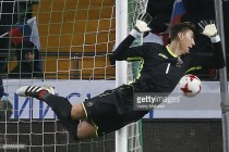 Costel Pantilimon gets some much needed playing time for Romania