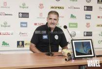 """Paco Herrera: """"Estoy muy contento por el resultado y el sacrificio de los jugadores"""""""