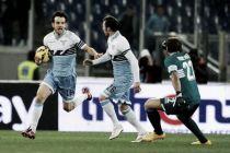 Parolo e Klose devastano il Milan: all'Olimpico finisce 3-1 per la Lazio
