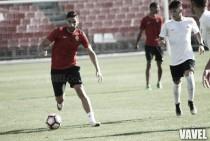 El Almería pone el broche a una intensa semana de trabajo con un partido ante el filial