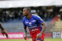 Cristian Nazarit, jugador crucial para la delantera del Pasto