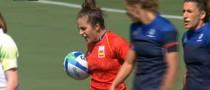 España no puede con Francia en el primer partido del 'seven' femenino