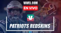 Resumen y touchdowns Patriots 33-7 Redskins en NFL 2019