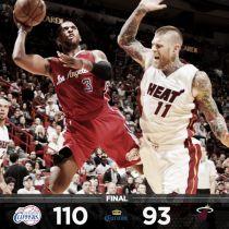 I Clippers passeggiano a Miami: Heat travolti