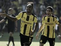 Borussia Dortmund 2-1 1. FSV Mainz 05: Aubameyang brace gives BVB opening day win