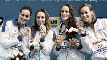 Nuoto, Doha 2014: emozioni azzurre, Orsi d'argento, la Pellegrini trascina la staffetta al bronzo