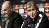 """Manuel Pellegrini: """"Nadie está contento con cómo estamos jugando en la Champions"""""""