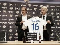 """Peñaranda: """"No pensé dos veces la opción de venir al Málaga CF"""""""