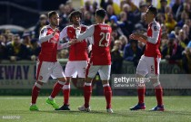 Sutton United 0-2 Arsenal: Perez and Walcott help Gunners eliminate plucky Sutton