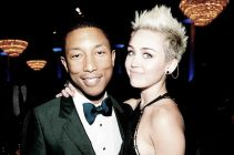 Pharrell Williams y Miley Cyrus unen fuerzas