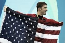Y Phelps se paró en 28