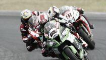 Primera carrera de Superbikes del GP de Tailandia 2015