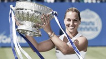 Dominika Cibulkova beats Karolina Pliskova to win Eastbournetitle